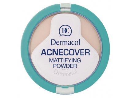 Dermacol Kompaktní matující pudr na problematickou pleť (Acnecover Mattifying Powder) 11 g (Odstín č.4 - Honey)