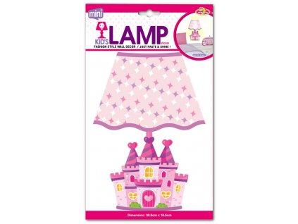 EP02291 Dětská lampička na zeď, zámek 8595582222916