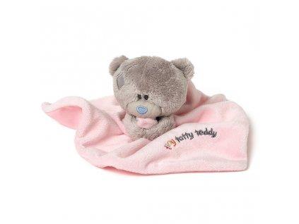 G92W0120TTT Růžová dečka s medvídkem 5021978762375