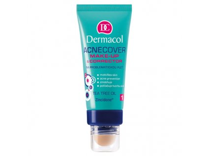 Dermacol Make-up s korektorem na problematickou pleť (Acnecover Make-up & Corrector) 30 ml (Odstín č.4)
