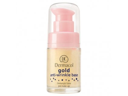 Dermacol Omlazující báze pod make-up se zlatem (Gold Anti-Wrinkle Make-Up Base) 15 ml