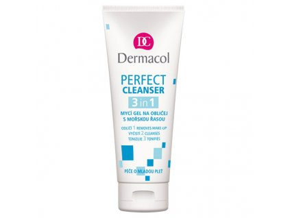 Dermacol Perfect Cleanser 3v1 mycí gel na obličej 100 ml