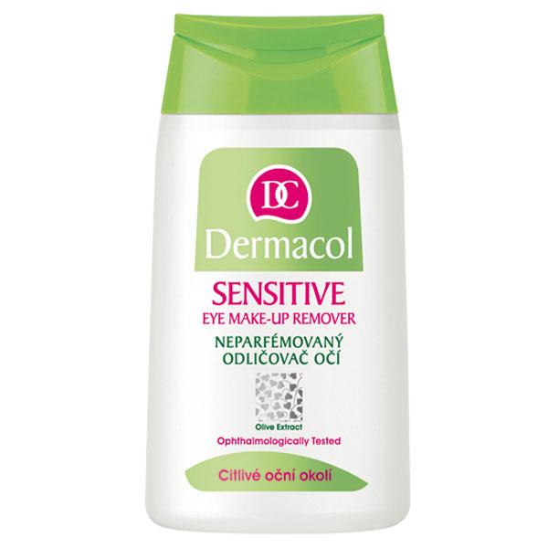 Dermacol Sensitive neparfémovaný odličovač na citlivé oči (Eye Make-Up Remover) 125 ml