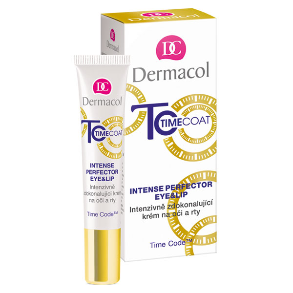 Dermacol Time Coat krém na oči a rty (Eye & Lip Cream) 15 ml