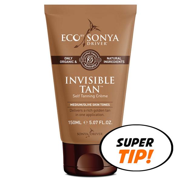 Eco by Sonya Přírodní samoopalovací krém (Invisible Tan) 150 ml