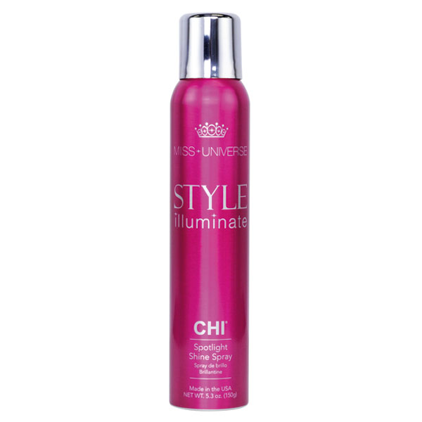 CHI Miss Universe Style Illuminate Uhlazující sprej na vlasy (Spotlight Shine Spray) 150 g