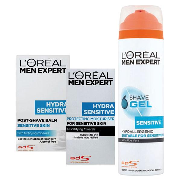 L'Oréal Paris Men Expert Dárková sada pro muže 200 ml + 100 ml + 50 ml