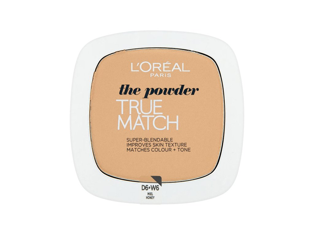 L'Oréal Paris True Match Kompaktní pudr 9 g Odstín: Honey