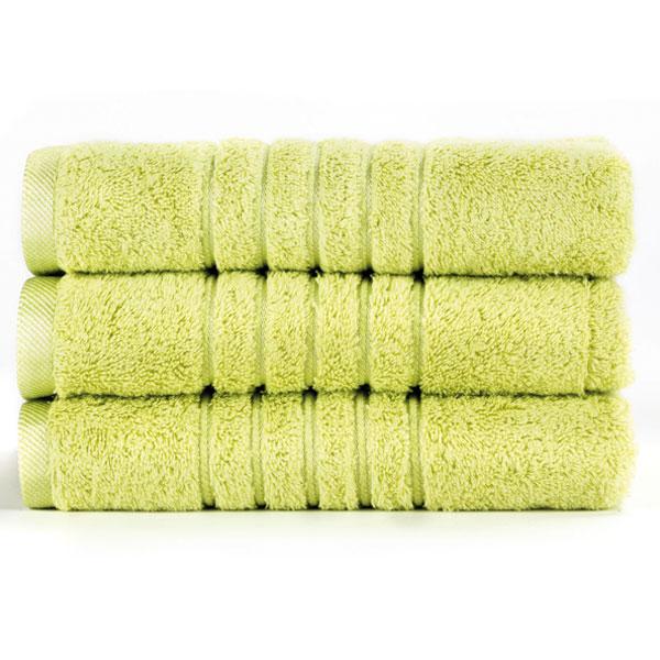 Brilliant froté ručník v limetkové barvě (Lime) 50 x 100 cm
