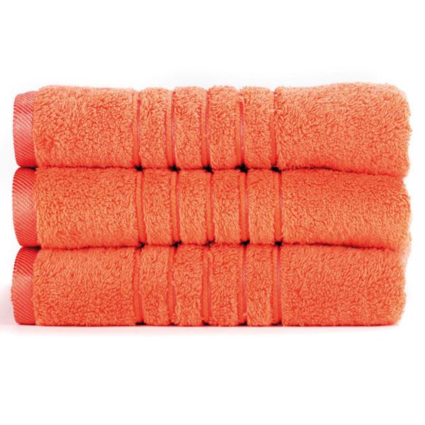 Brilliant froté ručník v lososové barvě (Salmon) 50 x 100 cm