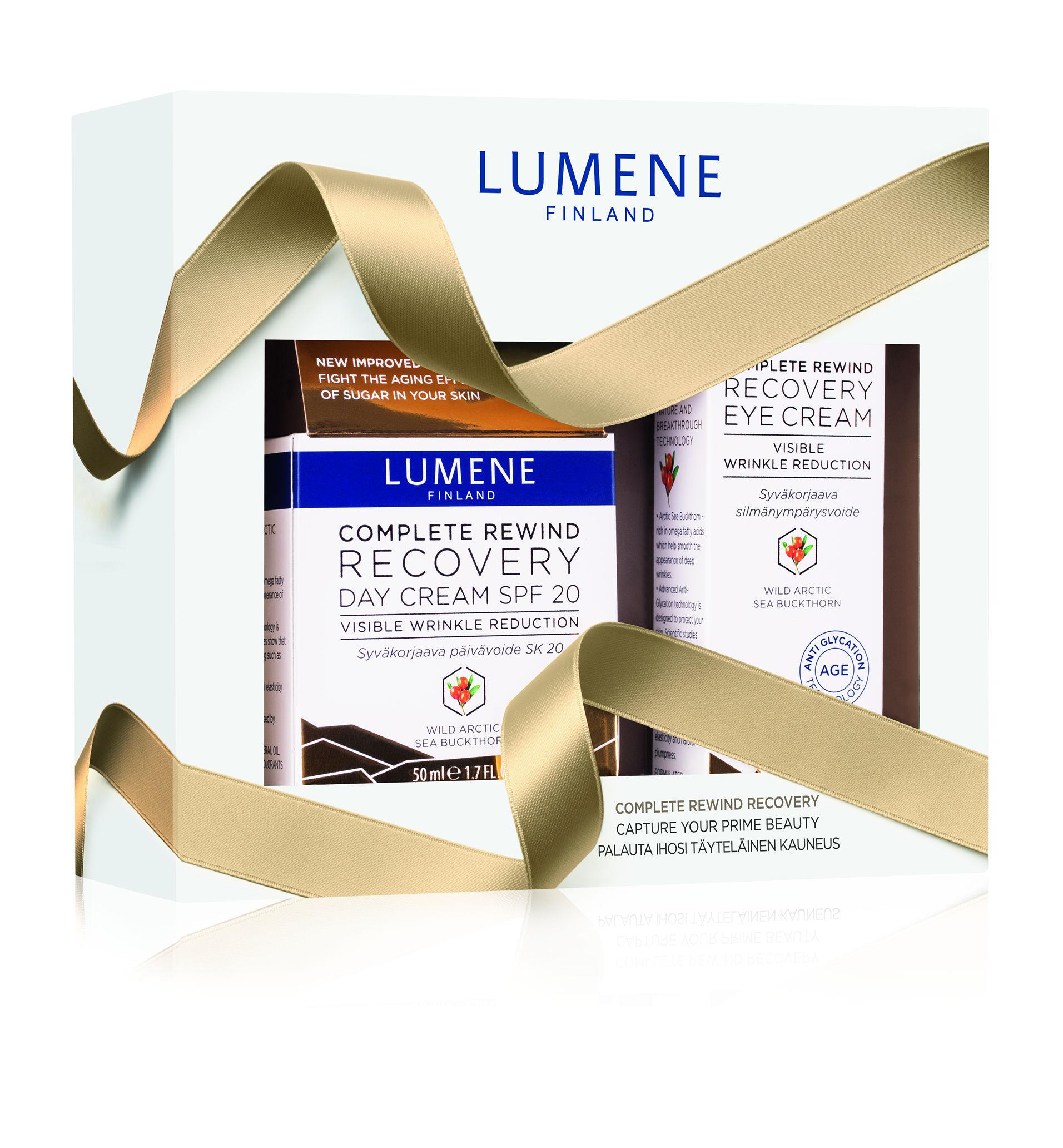 Lumene Complete Rewind Recovery kosmetická sada 50 ml + 15 ml