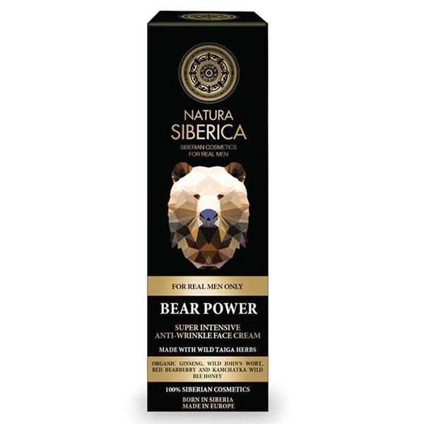 Natura Siberica Men Super intenzivní krém proti vráskám pro muže Medvědí síla 50 ml
