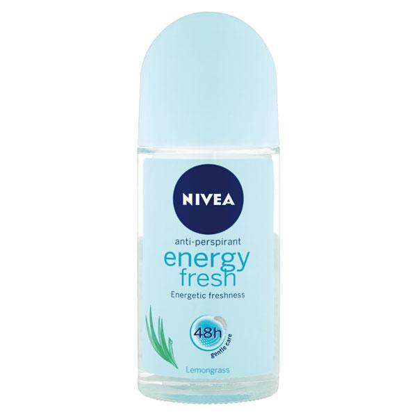 Nivea Kuličkový roll-on antipespirant Energy Fresh 50 ml