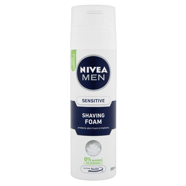 Nivea Men pěna na holení pro muže Sensitive 200 ml