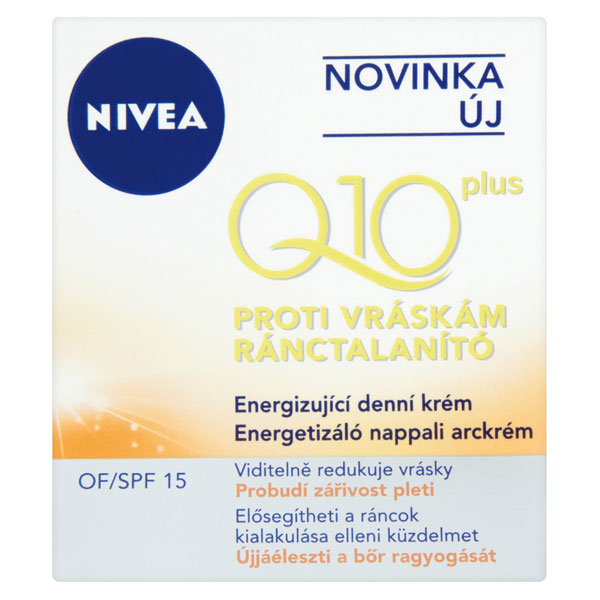 Nivea Q10 energizující krém proti vráskám 50 ml