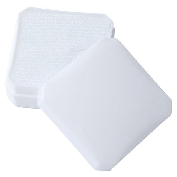 Plastová krabička bílá 37 x 37 mm