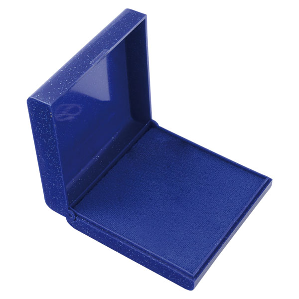 Plastová krabička modrá 90 x 90 mm