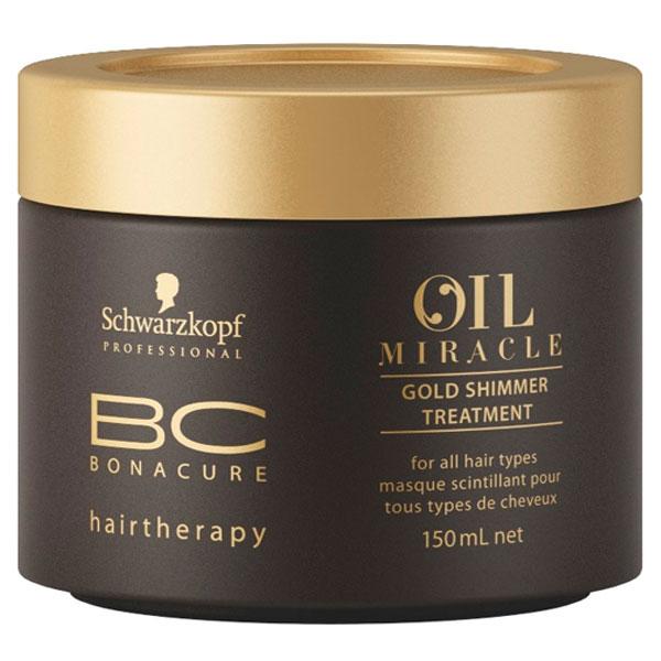 Schwarzkopf Professional BC Bonacure Regenerační kúra pro všechny typy vlasů (Oil Miracle Gold Shimmer Treatment) 150 ml