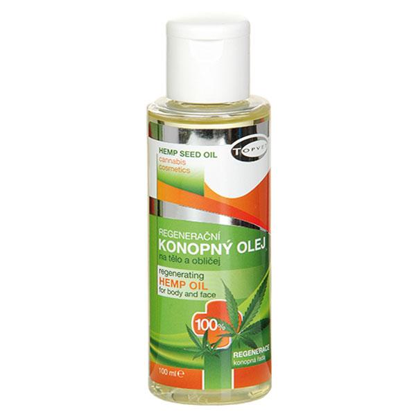 Topvet Regenerační konopný olej 100% 100 ml