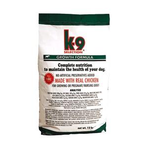 K-9 Selection Growth Formula (krmivo pro štěňata) Balení: 20 kg
