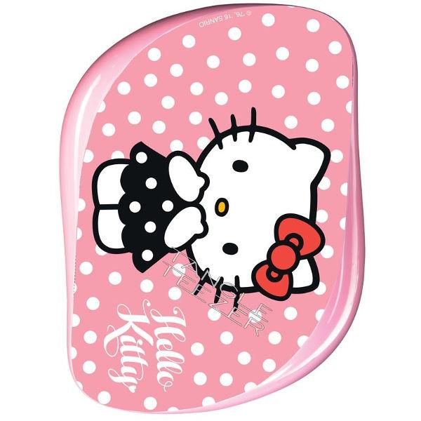 Tangle Teezer Compact Styler Kartáč na vlasy Hello Kitty růžový