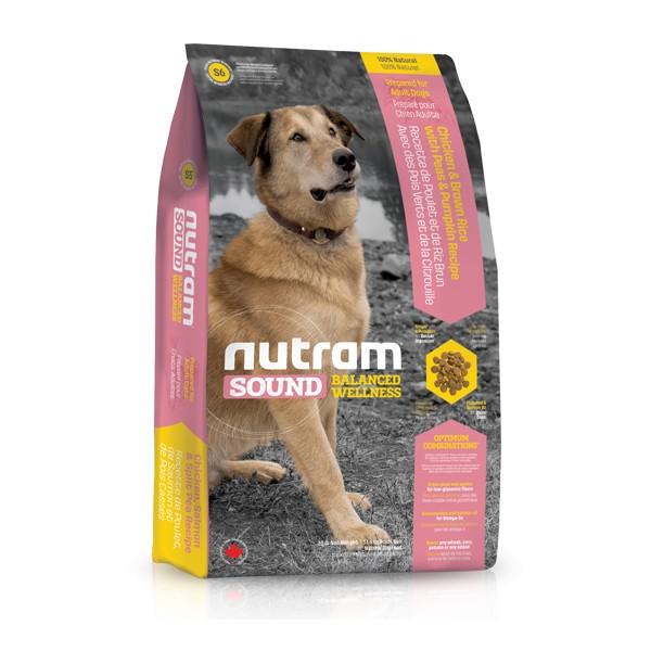 Nutram S6 Sound Adult Dog krmivo pro dospělé psy Balení: 13,6 kg