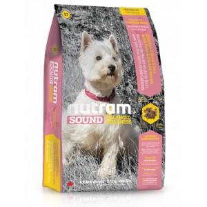 Nutram S7 Sound Adult Dog Small Breed krmivo pro dospělé psy malých plemen 2,72 kg