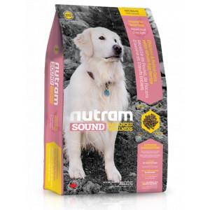 Nutram S10 Sound Senior Dog krmivo pro psí seniory všech plemen Balení: 13,6 kg