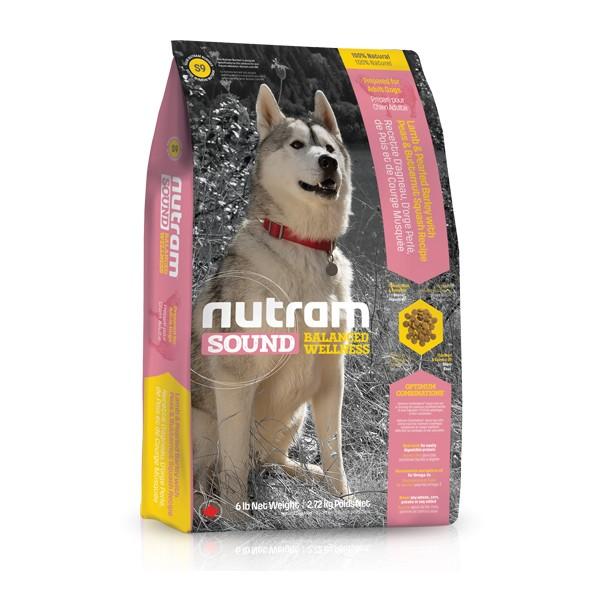 Nutram S9 Sound Adult Dog Lamb krmivo pro dospělé psy (jehněčí) Balení: 13,6 kg
