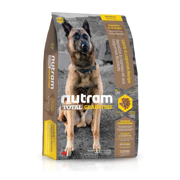 Nutram T26 Total Grain Free Lamb & Legumes Dog bezobilné krmivo pro psy (jehněčí a luštěniny) Balení: 13,6 kg