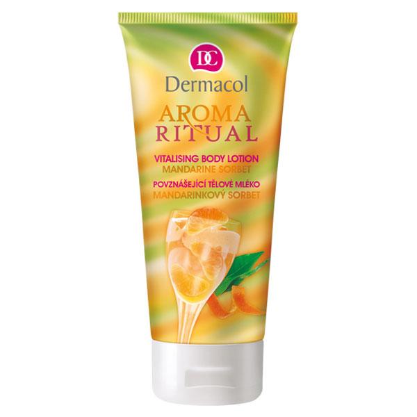 Dermacol Aroma Ritual tělové mléko mandarinkový sorbet (Body Lotion Mandarine Sorbet) 200 ml