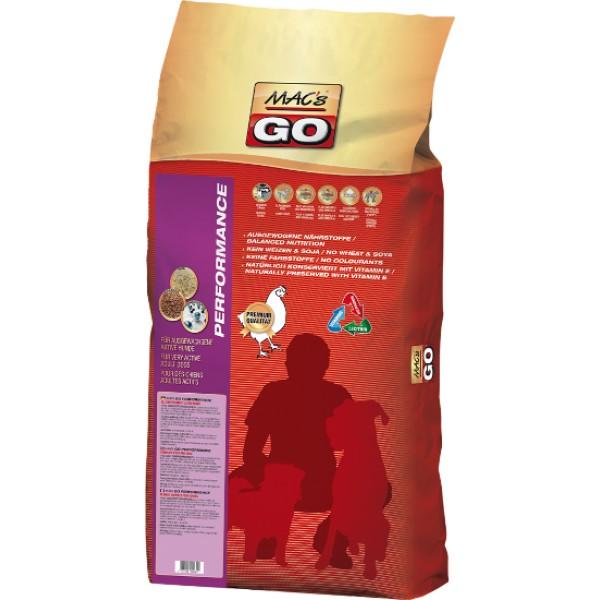 Macs Dry Dog Go krmivo pro dospělé aktivní psy Balení: 3 kg