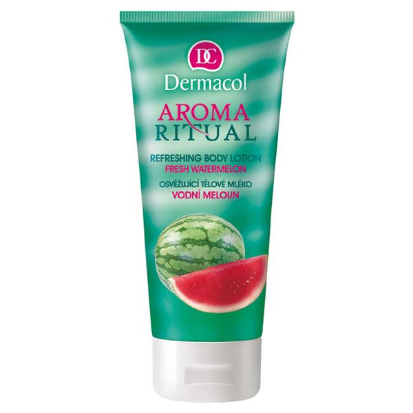 Dermacol Aroma Ritual tělové mléko vodní meloun (Body Lotion Fresh Watermelon) 200 ml