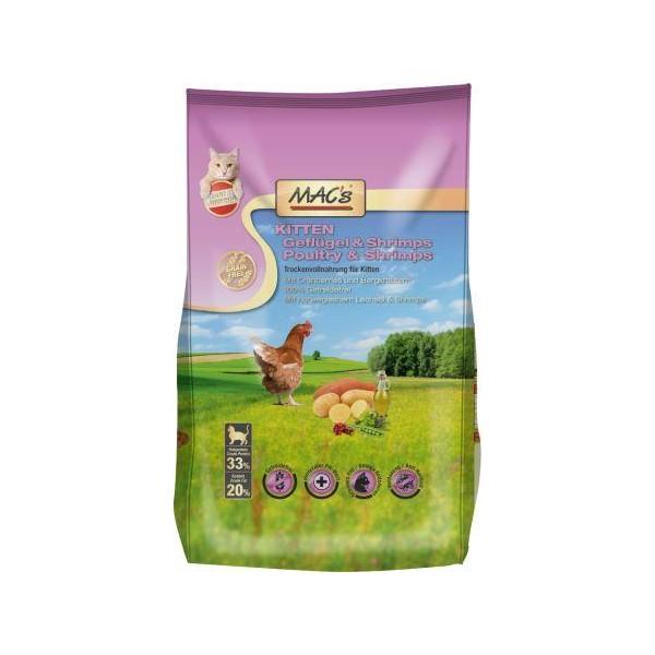 Macs Dry Cat bezobilné krmivo pro koťata Balení: 7 kg