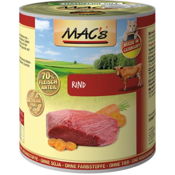 Macs Cat masová konzerva pro kočky (hovězí) Balení: 800 g