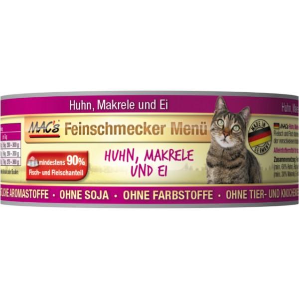 Macs Cat Fajnšmekr masová konzerva pro kočky (kuřecí s makrelou) Balení: 600 g
