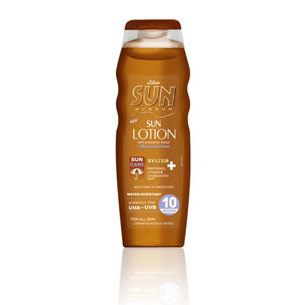 Lilien Sun Active opalovací mléko SPF 10 200 ml