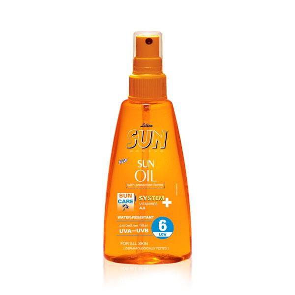 Lilien Sun Active opalovací olej SPF 6 150 ml