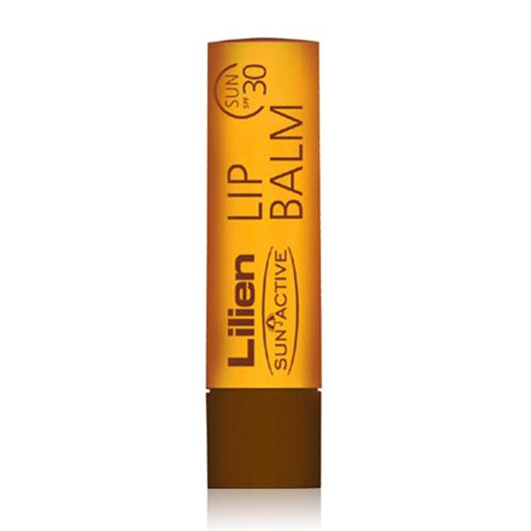 Lilien Sun Active balzám na rty s ochranným faktorem SPF 30 4,5 ml