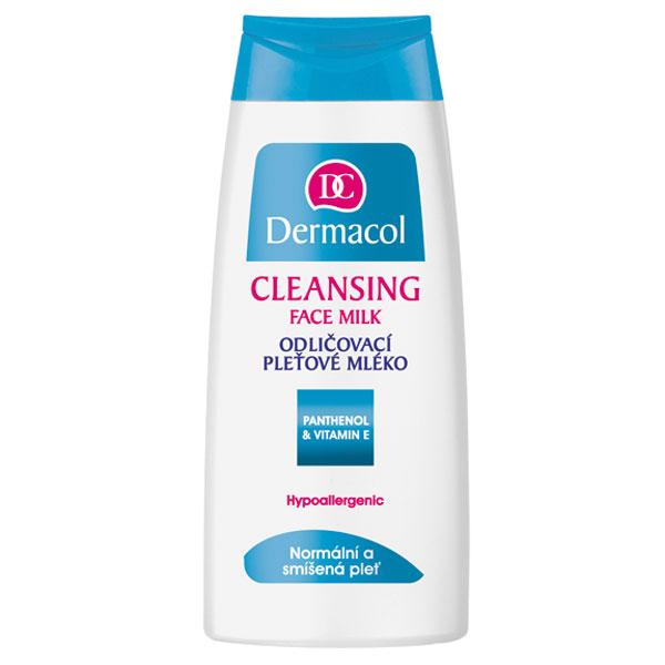 Dermacol Cleansing Face Milk pleťové mléko pro normální a smíšenou pleť 200 ml