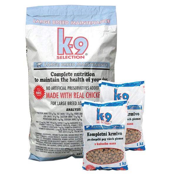 K-9 Maintenance Large Breed granule pro psy 12 kg + 2x 1kg balení zdarma