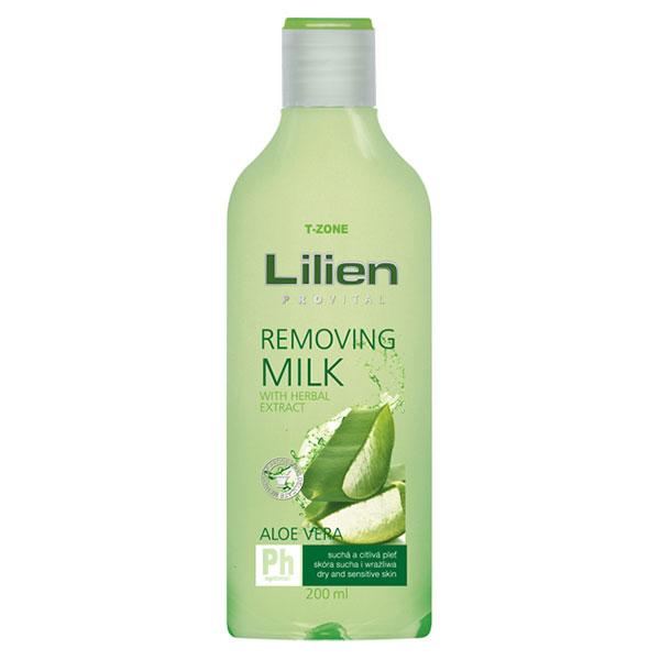 Lilien Provital Odličovací mléko Aloe Vera 200 ml