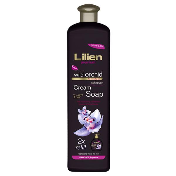 Lilien Exclusive Náhradní náplň pro krémové tekuté mýdlo Wild Orchid 1000 ml