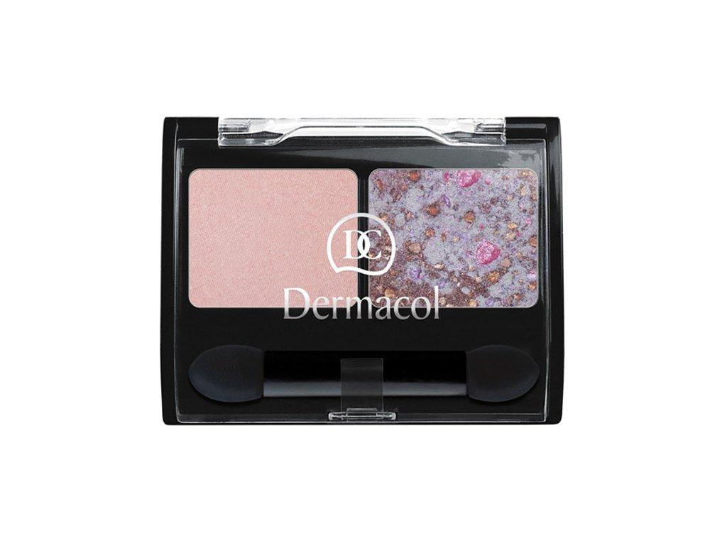 Dermacol Duo hedvábné oční stíny (Duo Eye Shadow) 2x1,5 g Odstín: č.1