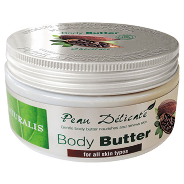 Naturalis Tělové máslo s vůní čokolády 300 g