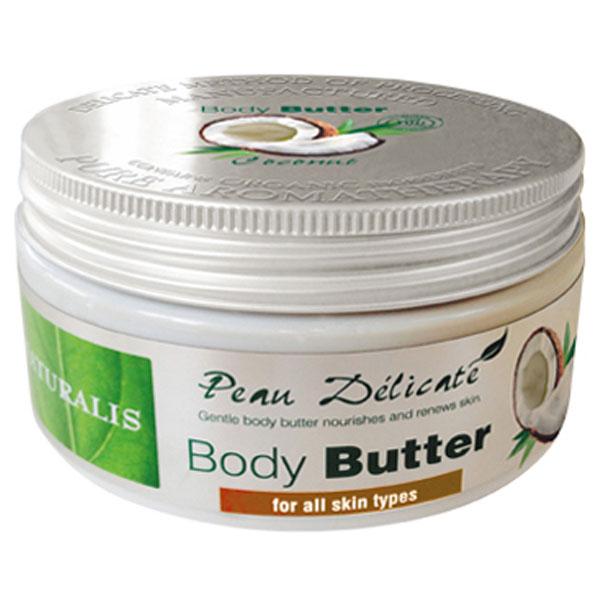 Naturalis Tělové máslo s kokosovým olejem 300 g