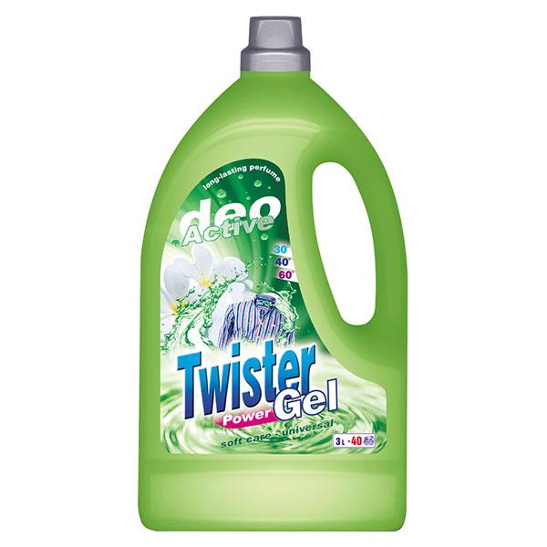 Twister Tekutý prací gel Deo Active 3000 ml