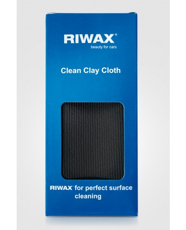 Riwax Clean Clay Cloth speciální utěrka k odstraňování nečistot a nánosů z laků a ploch 40 x 40 cm