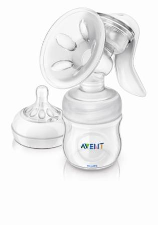 Philips Avent Odsávačka mateřského mléka Natural se zásobníkem 125 ml