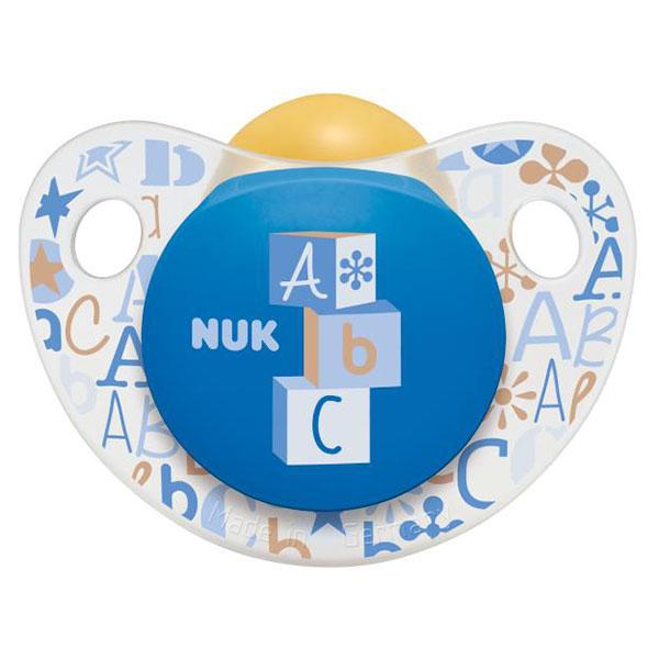 NUK Dudlík Trendline Adore, latex, vel. 2 (6-18m) Varianta: modrá